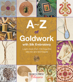 photo: livre A-Z of Goldwork with Silk Embroidery