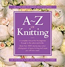 photo: book A-Z knitting