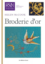 photo: livre broderie or RSN
