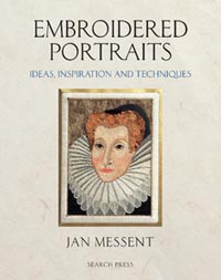 photo: livre Embroidered portraits