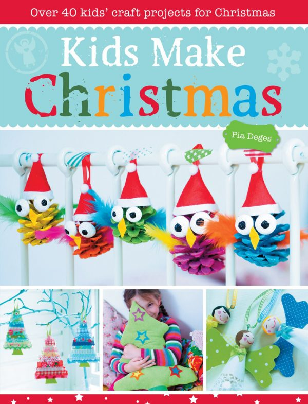 photo: livre kids-make-christmas