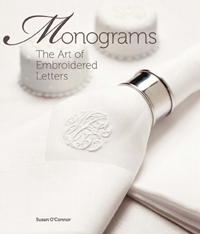 photo: livre monograms art of embroidered letters