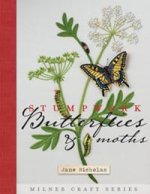 photo: livre stumpwork embroidery butterflies and moths