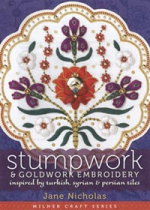 photo: livre Stumpwork & Goldwork Embroidery